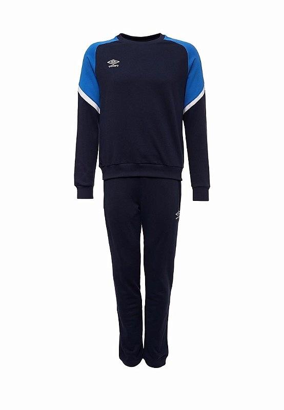 Костюм спортивный Umbro Avante Cotton Suit 350117 (791) син/т.син/бел.