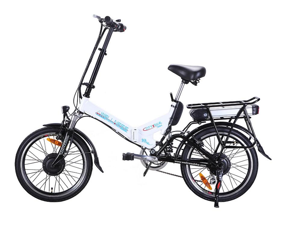 Электровелосипед Wellness City Dual