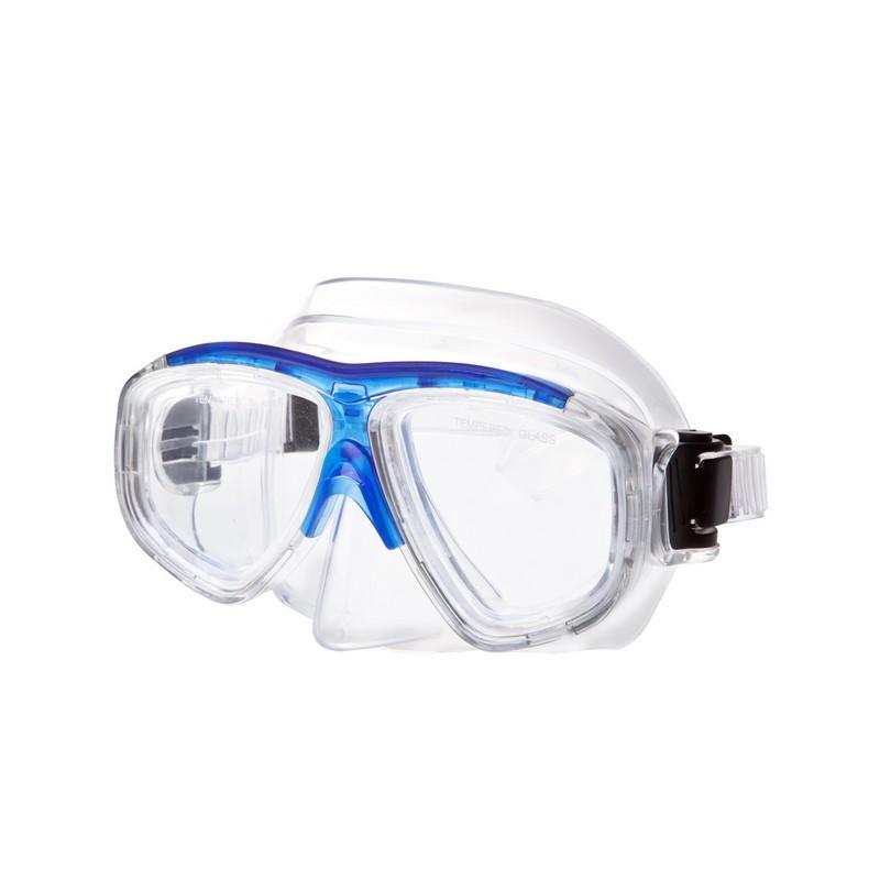 Маска для плавания Alpha Caprice М-1320 ПВХ синий
