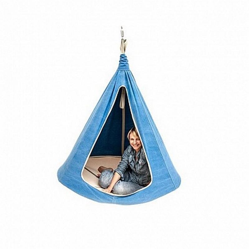 Гамак G136LB Kett-Up подвесной диаметр 110 см, светло-голубой