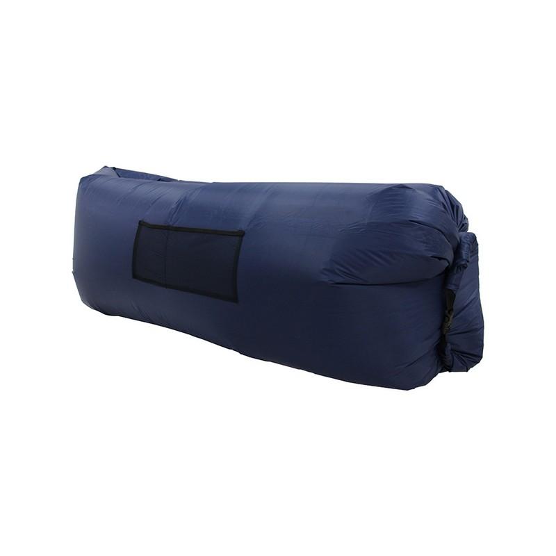 Надувной лежак Lamzac темно-синий