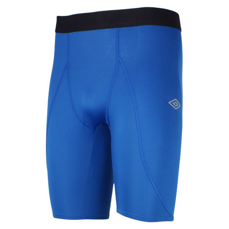 Лосины Umbro Support Short короткие мужские 61475U (030) синие