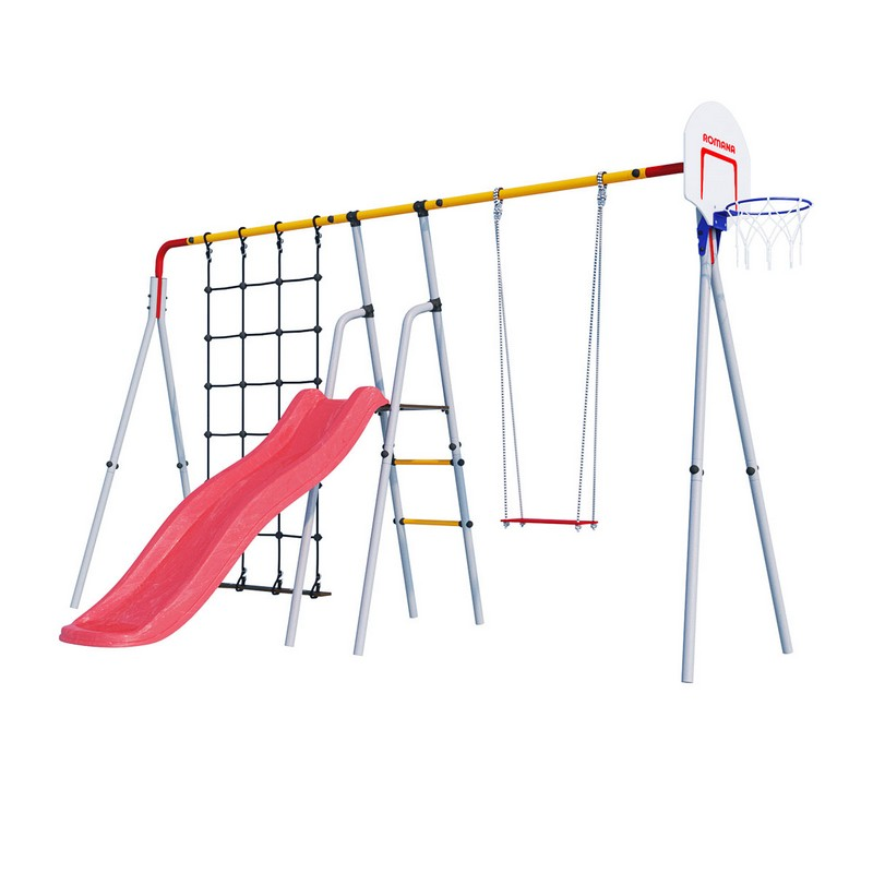 Купить Дачный комплекс Радуга Romana R 103.05.00, Детские спортивные комплексы, площадки