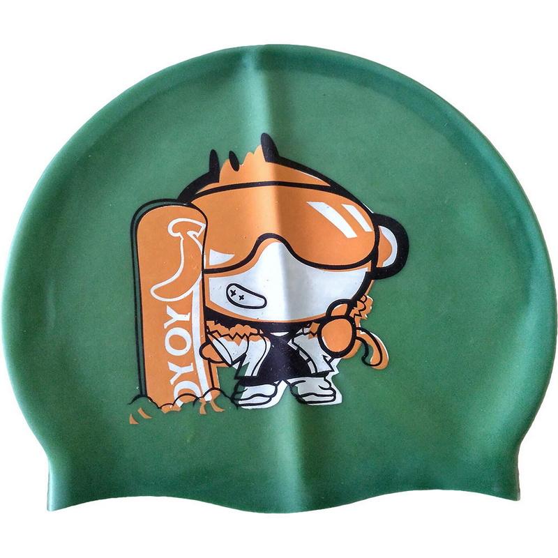 Купить Шапочка для плавания детская (силикон) C33210-4, NoBrand