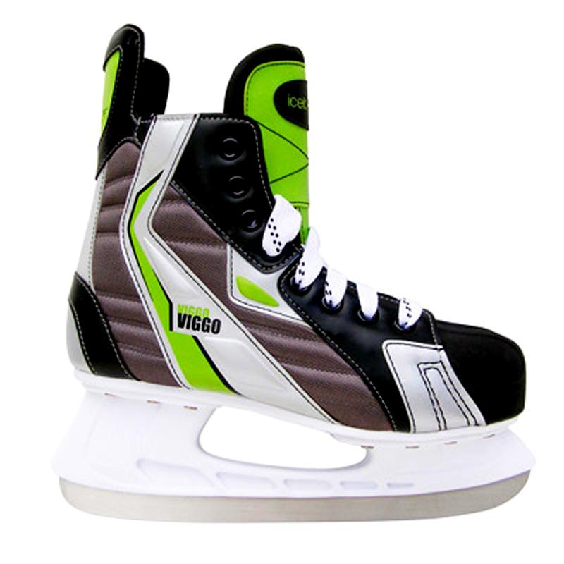 Коньки хоккейные Black Aqua Viggo HS203