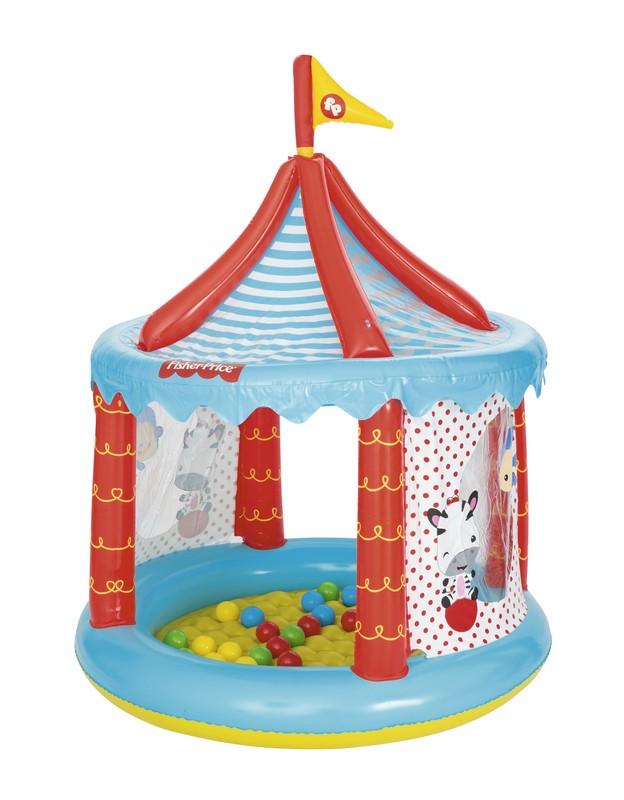 Купить Игровой центр надувной 104х137 см Bestway Цирк, 25 шаров 93505,