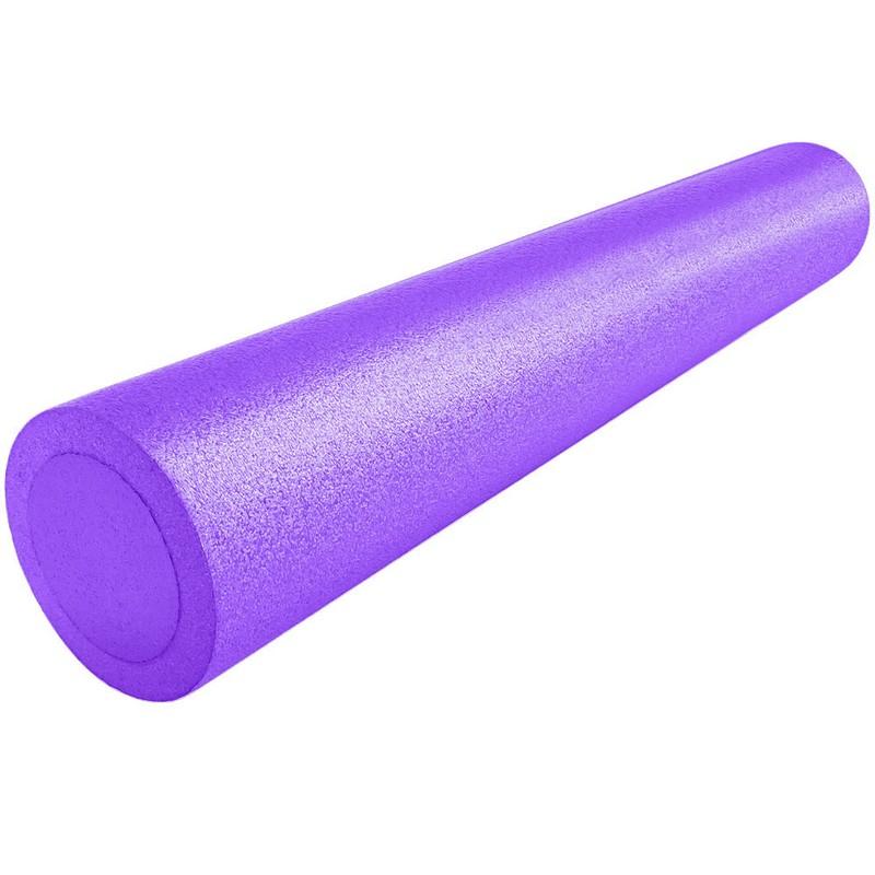 Купить Ролик для йоги полнотелый 2-х цветный (фиолетовый/фиолетовый) 90х15см PEF90-14, NoBrand