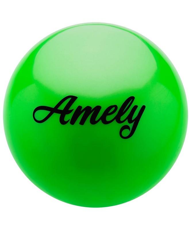 Купить Мяч для художественной гимнастики Amely d19см AGB-101 зеленый,