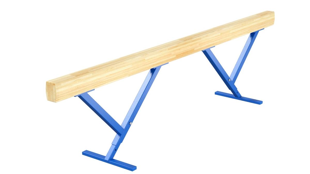 Купить Бревно гимнастическое высокое переменной высоты L=2 м Glav 04.10.05-2,