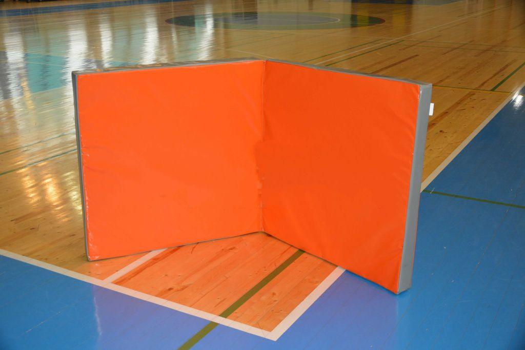Мат гимнастический складной 2х1х0,1м стандарт (тент, антислип, 2 сложения) чехол мата гимнастического складной 2х2х0 1м тент антислип 2 сложения спортивные технологии
