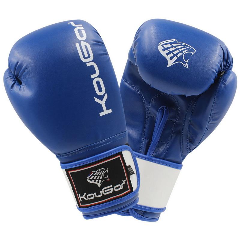 Купить Боксерские перчатки Kougar KO300-14, 14oz, синий,