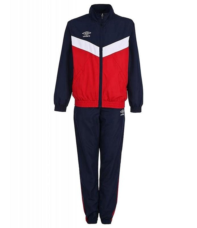 Костюм спортивный Umbro Unity Lined Suit мужской 463015 (291) красн/т.син/бел.