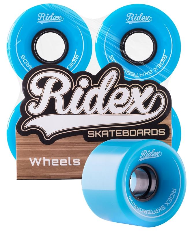 Купить Комплект колес для круизера Ridex SB, 82А, 60x45мм, голубой, 4 шт.,