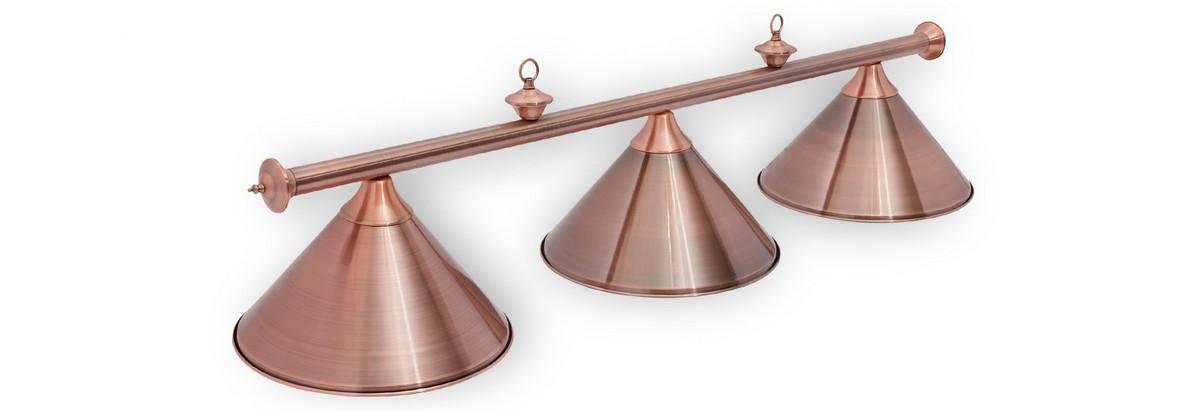 Купить Светильник Fortuna Marseille Red Bronze 3 плафона 06524,