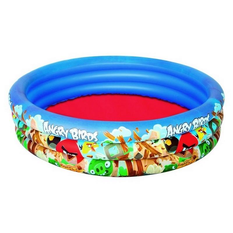 Детский круглый бассейн 152х30см Bestway Angry Birds 96108