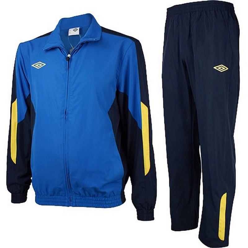 Костюм спортивный Umbro Woven Suit парадный 465013 (793) син/т.син/жел.