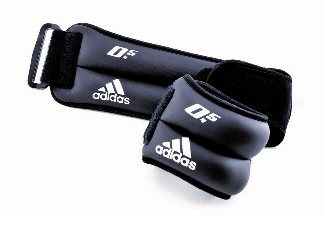 Утяжелители на запястья/лодыжки (2шт х 0,5кг) Adidas ADWT-12227
