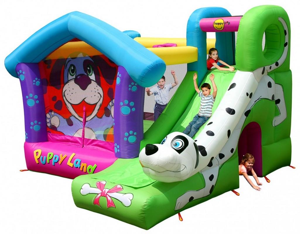 Детский надувной игровой центр Happy Hop Далматинец 9109