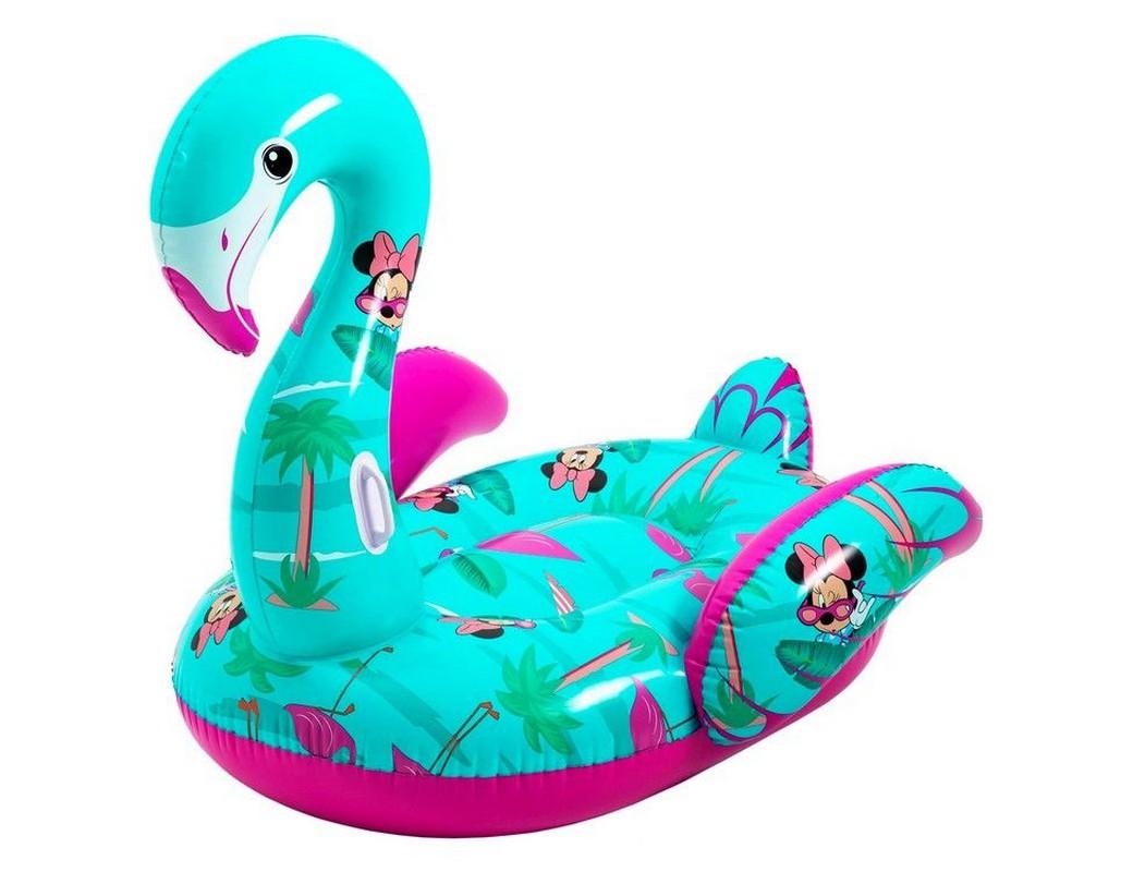 Купить Надувной плот Фламинго Disney Fashion Bestway 173x170см 91081,