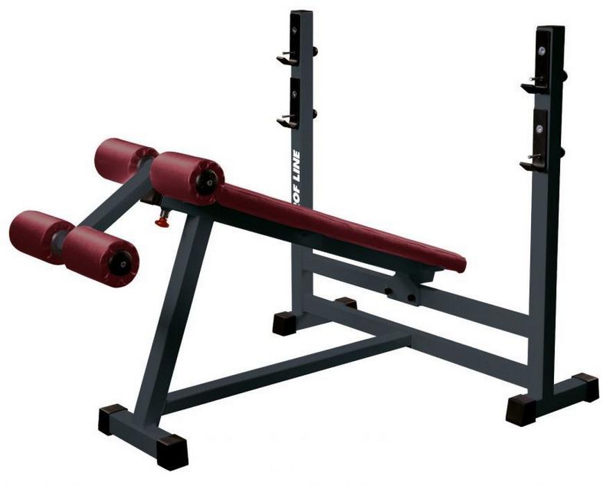 Купить Скамейка для жима под углом вниз Interatletik Gym SТ-306,