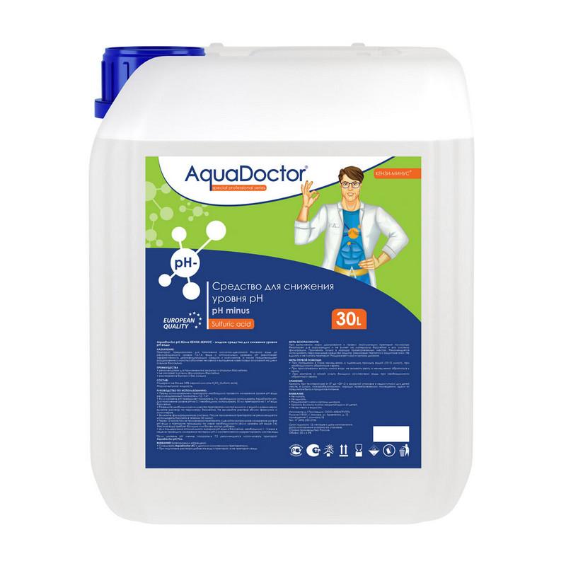 Купить Средство жидкое для снижения pH Minus 20 л AquaDoctor AQ17453,