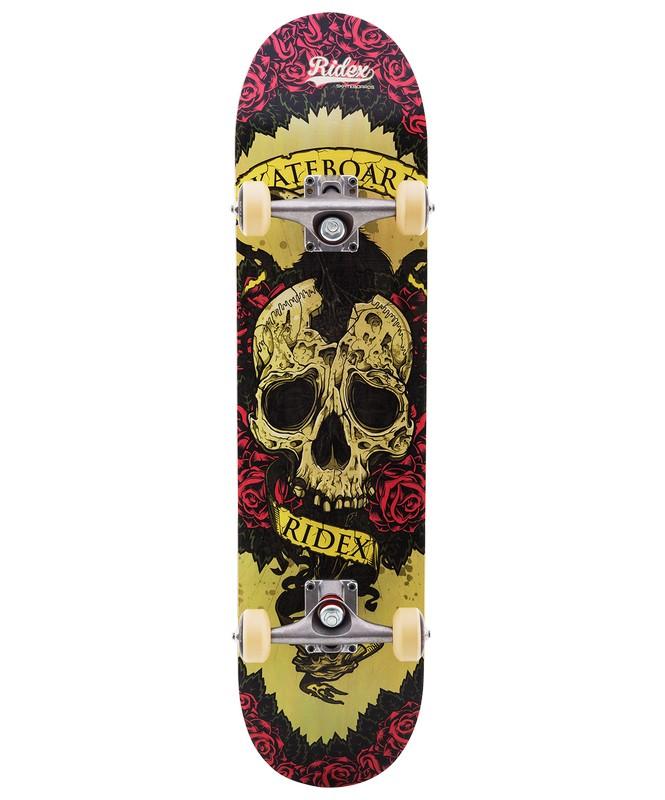 Скейтборд Ridex Blockhead скейтборд ridex immortal цвет фисташковый 31 x 8