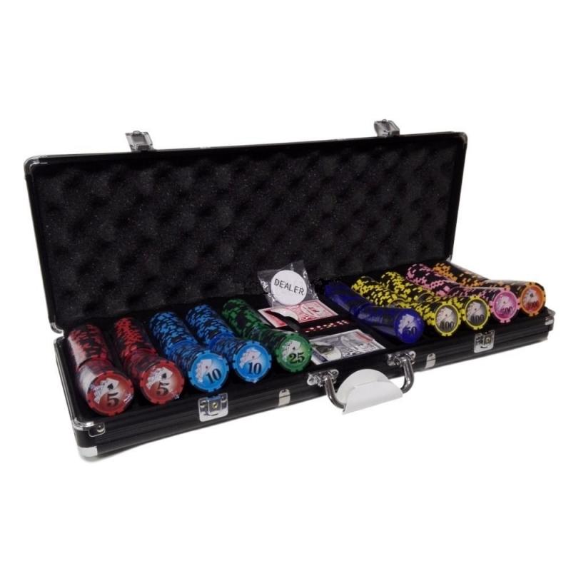 Набор для покера Royal Flush Black 500 набор для покера empire 500