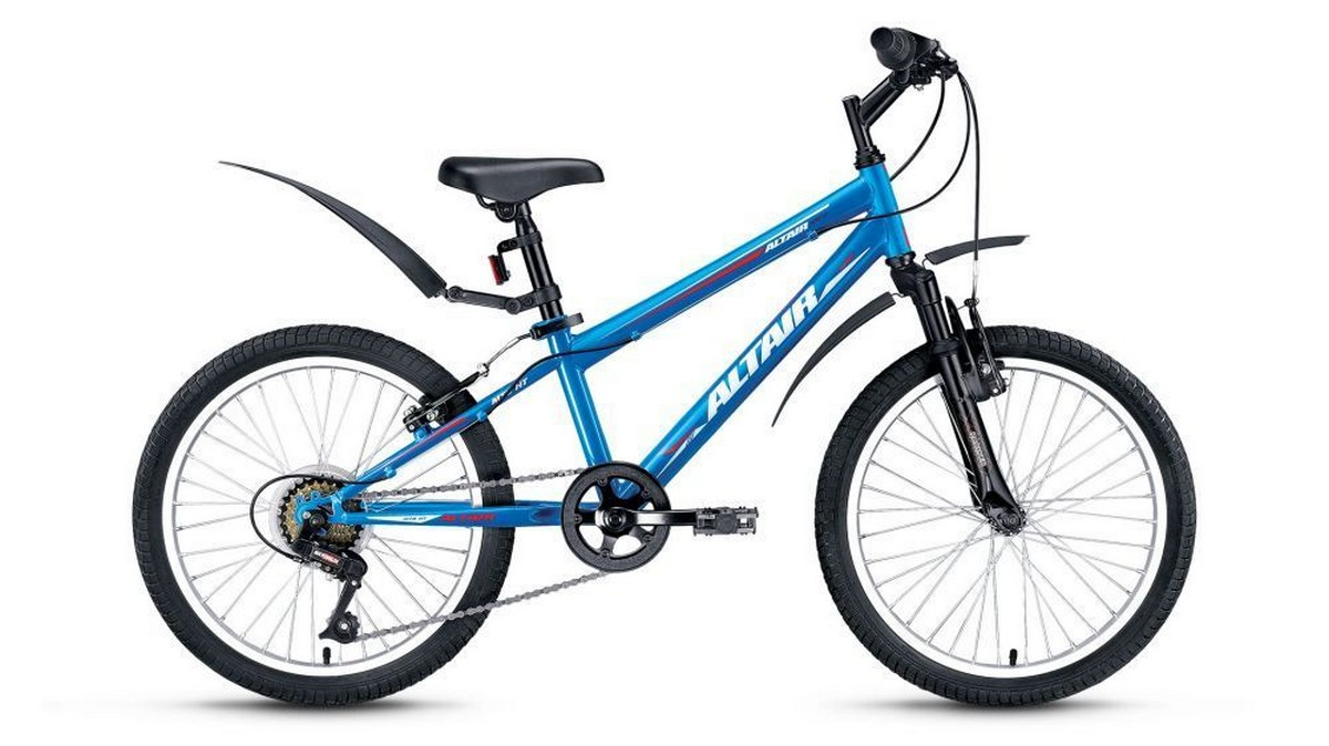 Подростковый велосипед Altair MTB HT JR 20 (2016) синий