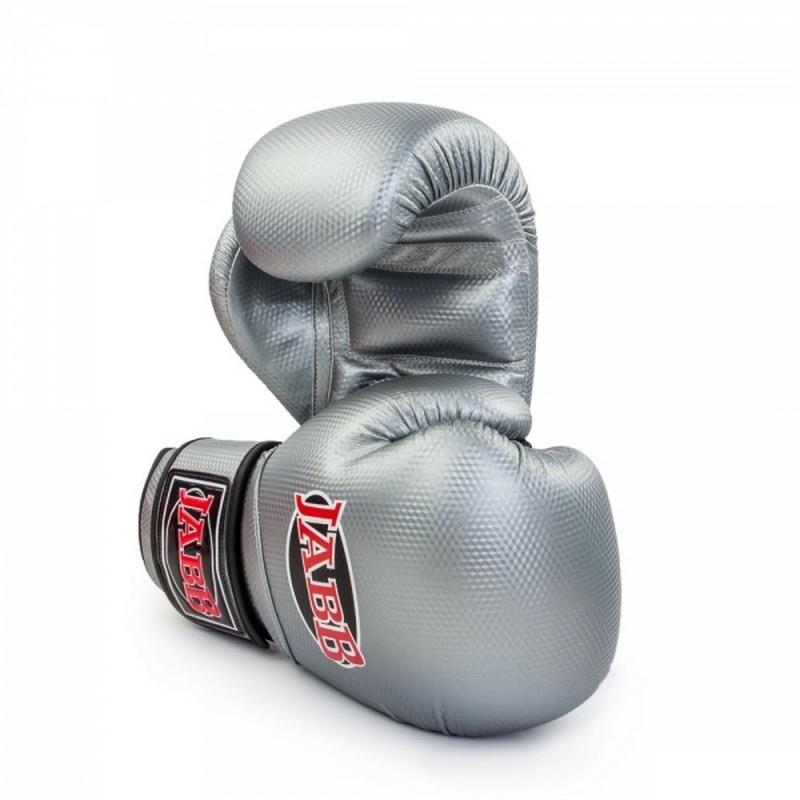 Боксерские перчатки Jabb JE-4022 серебро 10 oz от Дом Спорта