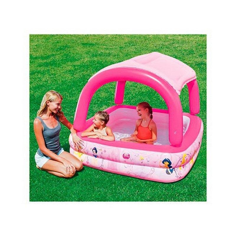 Надувной бассейн с тентом от солнца Disney Princess Bestway 91057