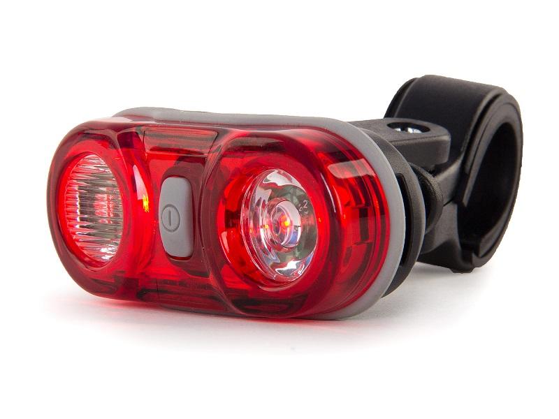 Велофонарь задний Meratti CG-405R-Black фонарь велосипедный d light cg 700r4 габаритный задний с отражателем цвет черный красный