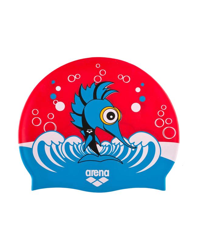 Шапочка для плавания (силиконовая) Arena AWT Multi JR punk/red шапочки и чепчики лео шапочка совы