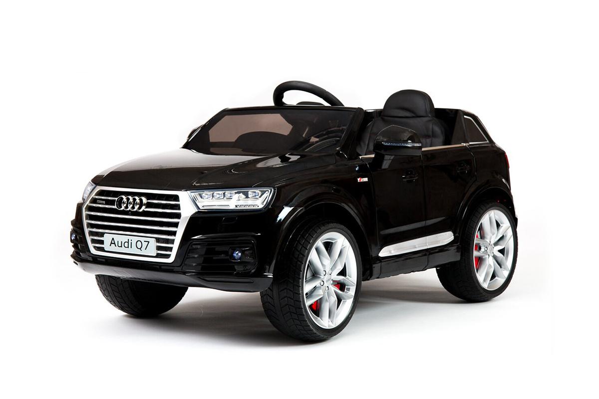 Электромобиль River-Toys Audi Q7 Quattro черный глянец (лицензия)
