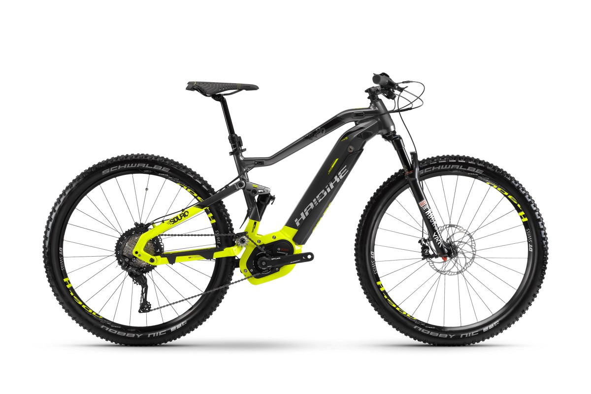 Электровелосипед HaiBike Sduro FullNine 9.0 500Wh 11s XT (2018)