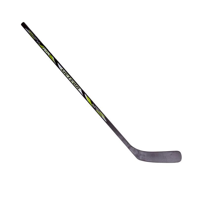 Клюшка хоккейная RGX Youth Meteor Black/Green L клюшка хоккейная rgx youth code active blue l 107 см синий
