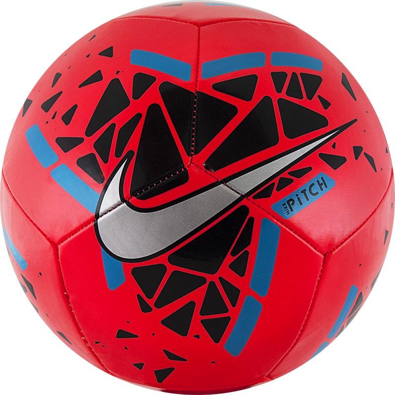 Купить Мяч футбольный Nike Pitch SC3807-644 р.5,