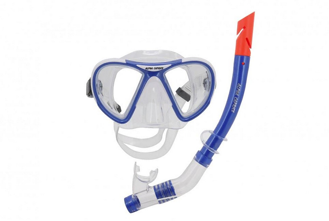 Комплект для дайвинга Alpha Caprice M-1399S24 PVC, ПВХ синяя