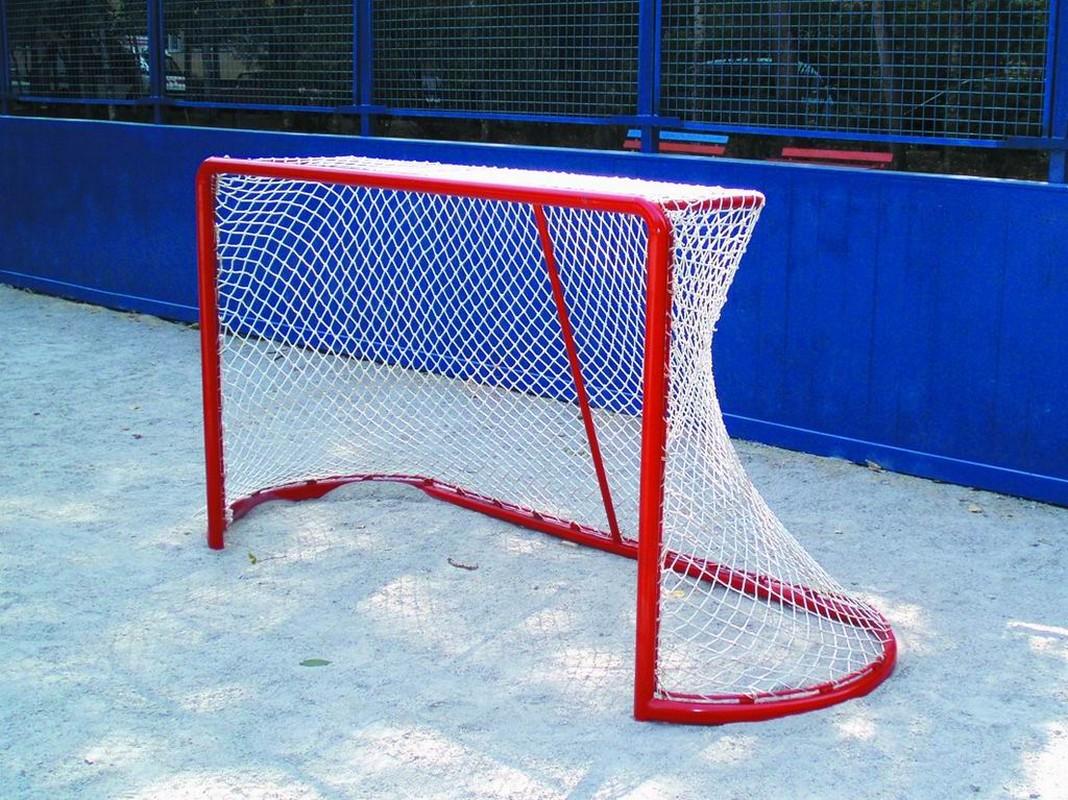 Купить Сетка для хоккея с мячом 2,14х3,66х0,9х1,2м (d= 2,2мм), NoBrand