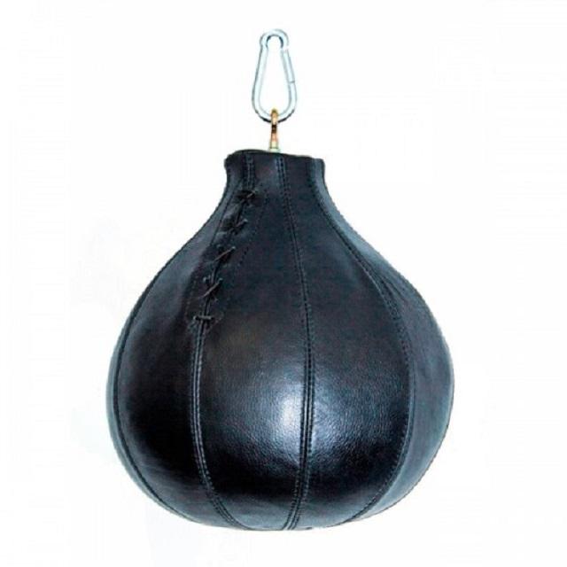 Купить Груша боксерская Totalbox шар, 15кг, h=40см (нат. кожа) Aquabox,