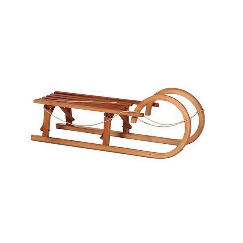 Санки деревянные спортивные без спинки W8836