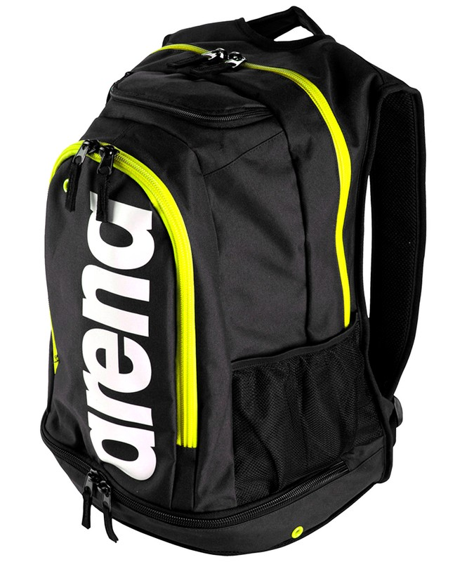 Рюкзак Arena Fastpack Core Black/Fluo green/White (000027 561) черн/желт.