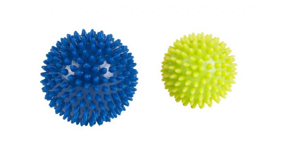 Массажные мячики Hudora Massageball, 2 St?ck массажер дельтатерм шарик ежик цвет зеленый диаметр 75 мм