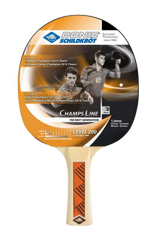 Купить Ракетка для настольного тенниса Donic Champs Line 200,