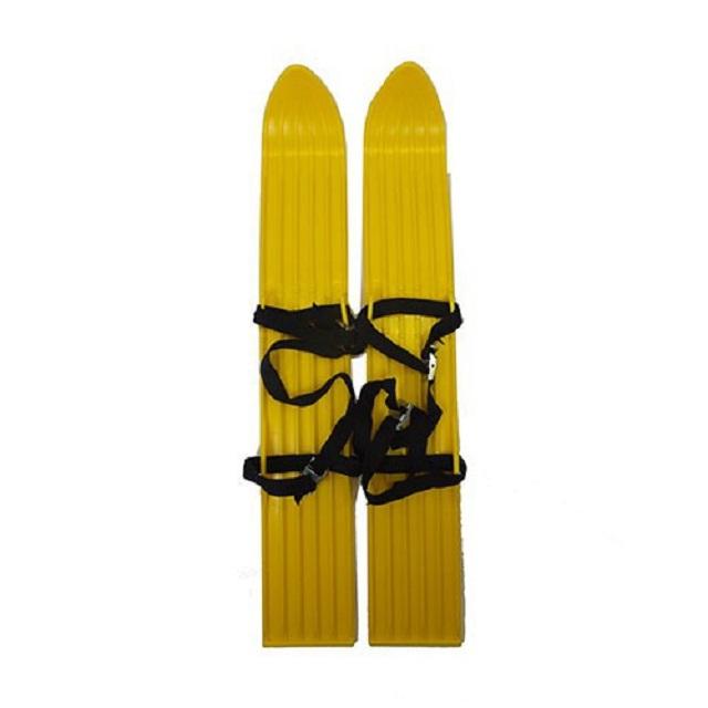 Мини-лыжи пластмассовые 64 см пластиковые лыжи с насечкой stc step 120