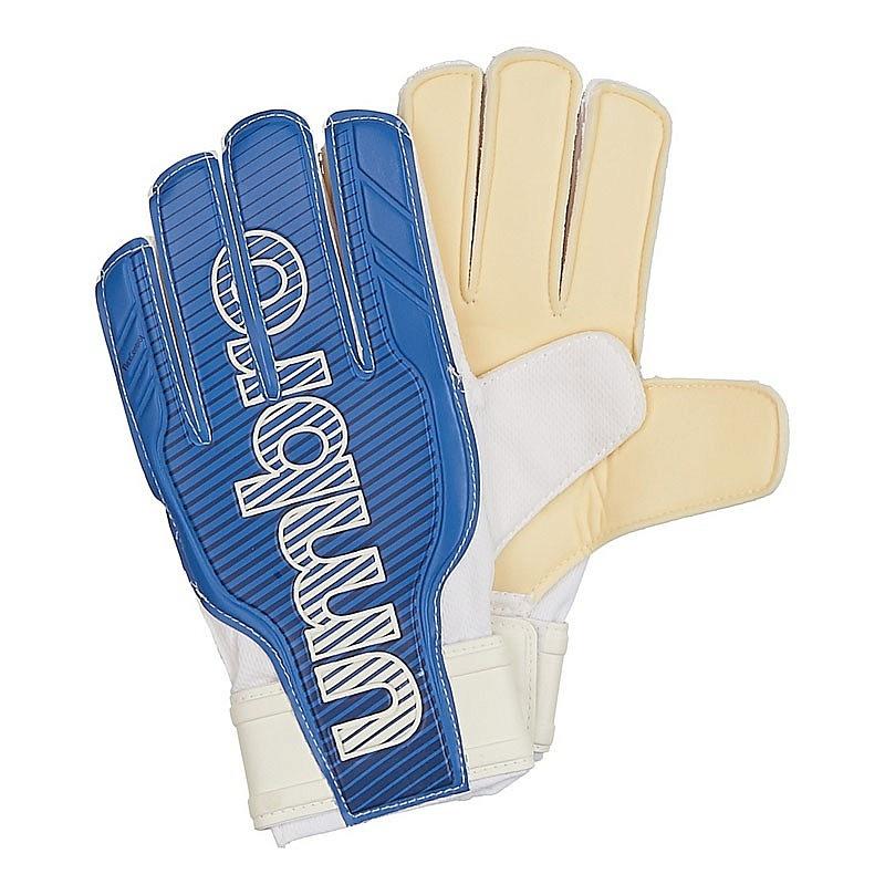 Перчатки вратарские Umbro Veloce Glove 20659U-95U синий-т.синий-белый