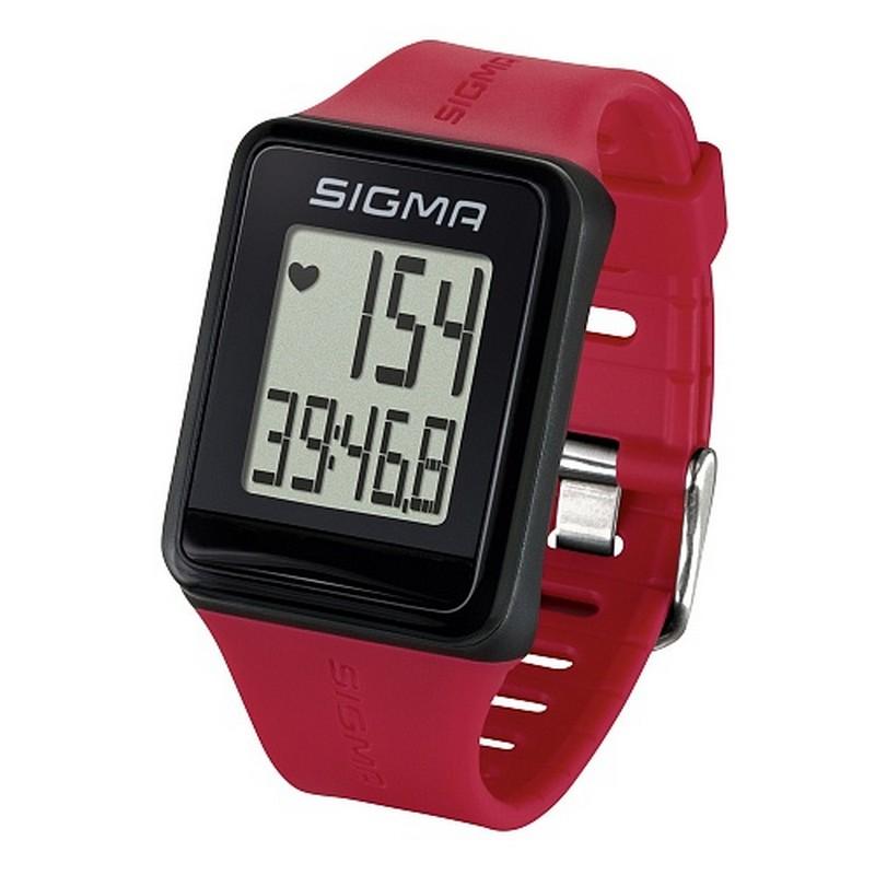 Пульсометр Sigma iD.Go 24530 красный пульсометр sigma pc 15 11 цвет серый 15 функций