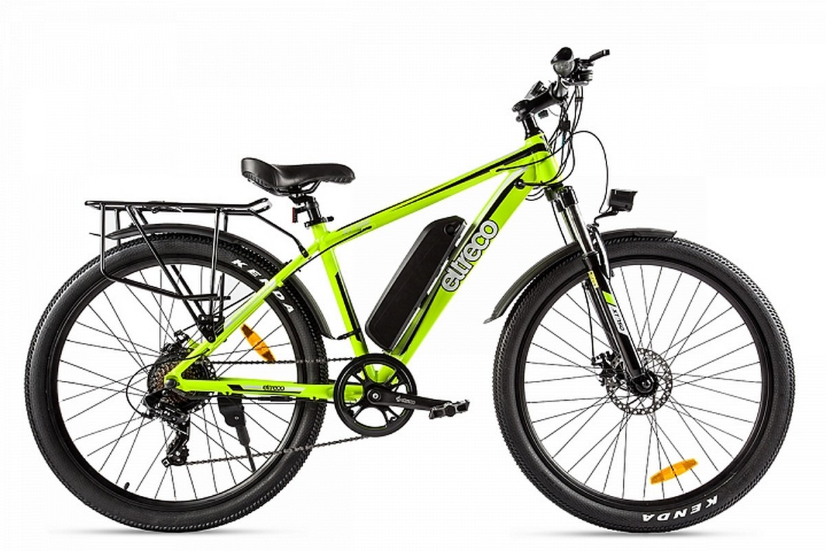 Велогибрид Eltreco XT 750 019896-1920 желтый