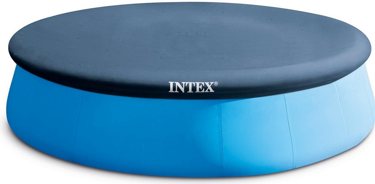 Купить Тент для круглого бассейна надувного d396см Intex 28026,