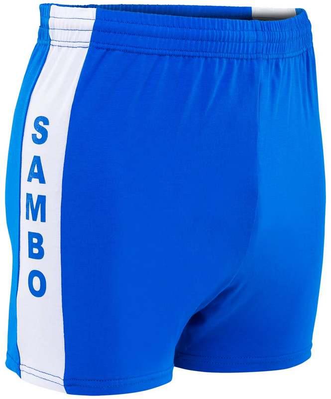 Купить Шорты для самбо SS-03, синий, NoBrand