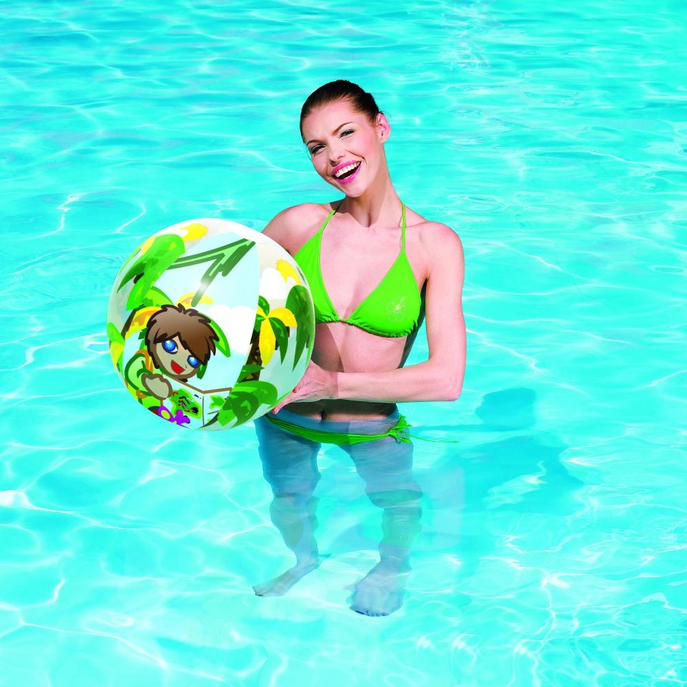 Мяч надувной Bestway 31040 Джунгли